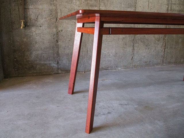Jarrah dining table by Saltwood Designs - Jarrah, Recycled, Table