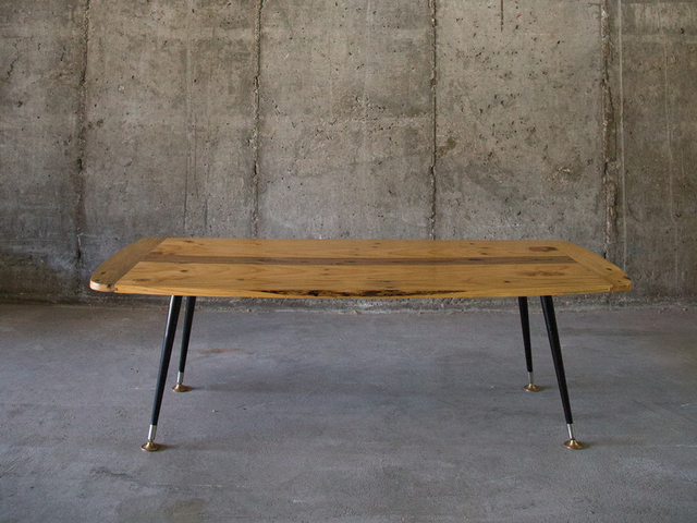 50's Style pallet wood coffee table by Saltwood Designs - 50'S, Coffee Table, Recycled