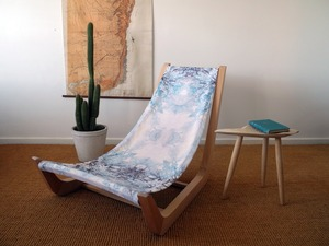 Bluey's Chair by Elise Cameron-Smith - Chair, Outdoor, Upholstered