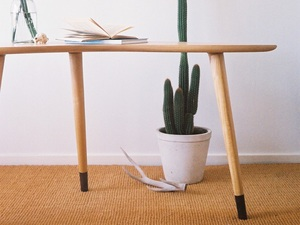 Eclipse Writing Table by Elise Cameron-Smith - Table, Furniture, Desk