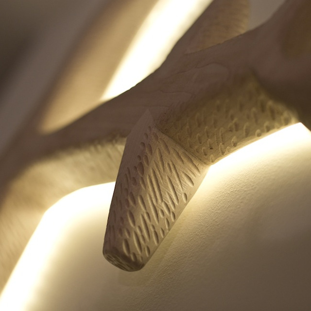 Barnacle Beacon Wall Lights by Felix Allen - Handcarved, Lighting, LED, Nautical, Timber, Wood