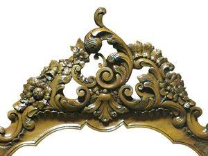 Louis XV Mirror Frame by Rupert Eachells - Hand Carved, Mirror Frame, Jarrah