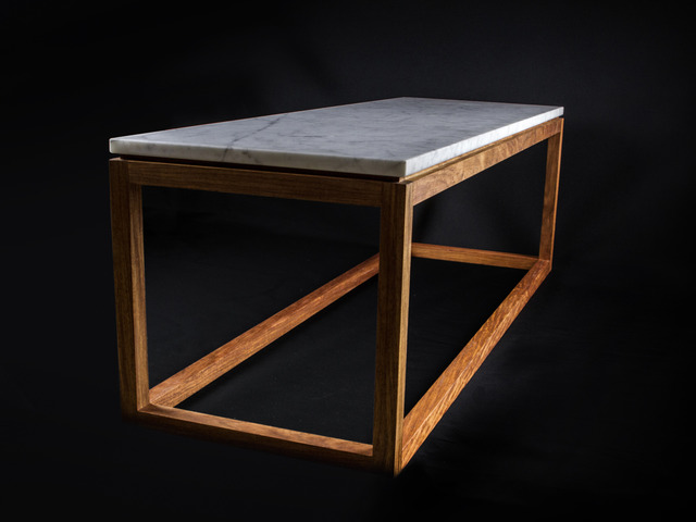 Carrara Coffee Table By Makimaki Furniture Works   Coffee Table, Carrara  Marble, Stone,