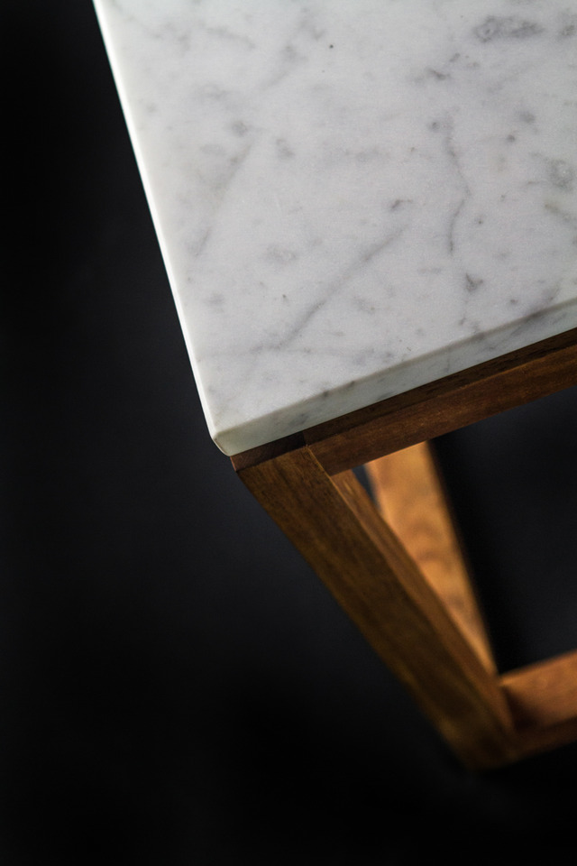 Carrara Coffee Table by makimaki Furniture Works - Coffee Table, Carrara Marble, Stone, Marble, Table