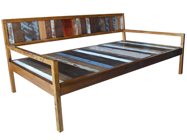 Handcrafted Recycled Timber Day Beds  by RAW Sunshine Coast  - Daybed, Day, Bed, Seat, Bench, Furniture, Recycled, Salvage, Timber, Handcrafted