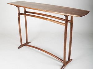 Elemental Hall Table by Tim Noone - Hall Table, Blackwood, Mortise And Tenon