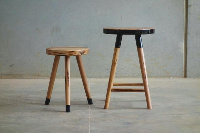 Same Same - Nest stools by CHRISTOPHER BLANK - Stools, Design, Recycled Hardwood, Christopher Blank