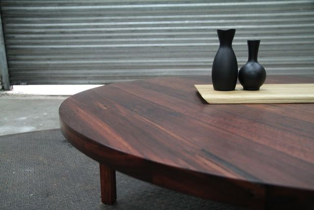 Marlo Coffee Table by Maeker Studio - Recycled, Jarrah, Round, Coffee Table, Dining Table, Reclaimed, Large