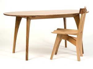 Le Cheval by WilderCoyle Furniture & Design - Table, Dining Table, Conference Table, Hardwood