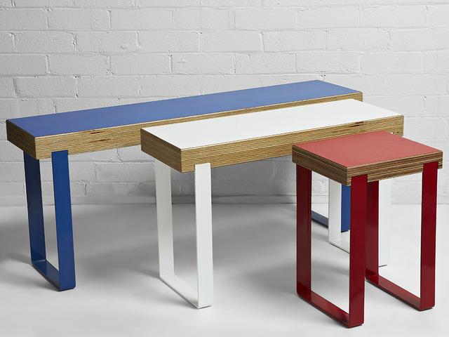 Minimal Bench by Darren Gray - Minimal Bench, Modern Bench, Minimalist Furniture, Timber And Steel, Workshopped 13