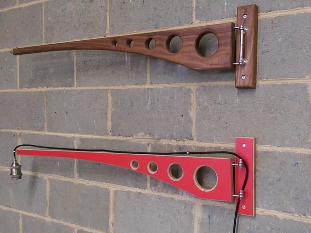 Crane Wall Lamp by Darren Gray - Wall Lamp, Crane Lamp, Modern Industrial Lamp