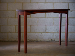 Recycled Jarrah hall table by Saltwood Designs - Hall Table, Jarrah, Table, Recycled