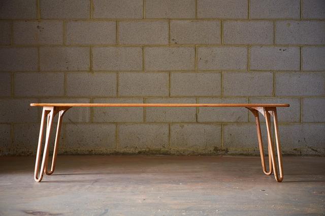 Reclaimed Tasmanian oak floor board coffee table by Saltwood Designs - Coffee Table, Hairpin Legs, Tasmanian Oak