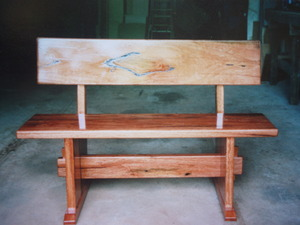 Patio Bench by Nicholas Aeberhard - Bench