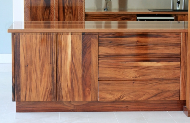 Solid Timber Kitchen by Nicholas Aeberhard - Timber Kitchen