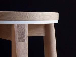 Crop Stool by Relm Furniture - Oak, Solid, Timber, Stool, Seat, Table, Bedside, Coffee