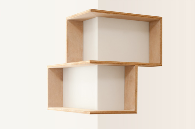 CORNER SHELF: DISPLAY UNIT BOOK CASE SHADOW BOX by Senkki ...