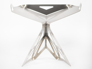 Libellu Stool by B Compact - Chair, Bcompact, Lasercut, Modern, Designer Stool, Stainless Steel, Bespoke, Stool, Coffee Table, Industrial Design