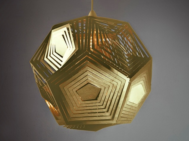 DODECAH TWIST Facet Pendant Light by B Compact - Pendant, Design, Decor, Stainless Steel, Designer Light, Dodecah, Twist Facets, Lighting, Beautiful, Bespoke