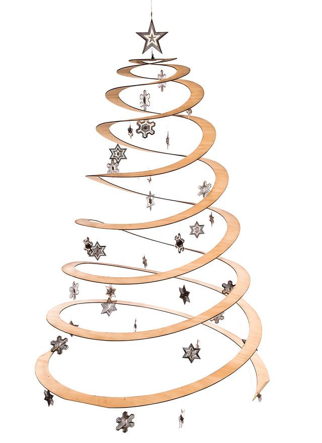 Spiral Christmas Tree Decorations | Psoriasisguru.com