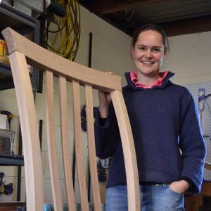 Sarah Carrucan, Bespoke Woodworker from Warrnambool, VIC