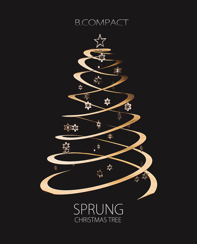 The SPRUNG Christmas Tree by B Compact | Handkrafted