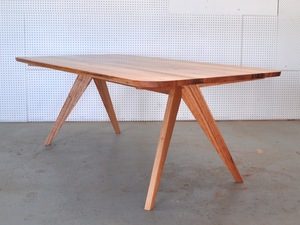 3 Way Mitre Series - 4 Seven's Table by Furniture Designer Makers - Dining Table, Mid Century Modern, Solid Timber