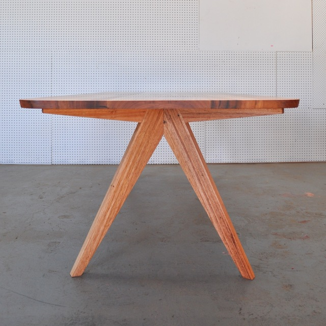 3 Way Mitre Series - 4 Seven's Table by WilderCoyle Furniture & Design - Dining Table, Mid Century Modern, Solid Timber