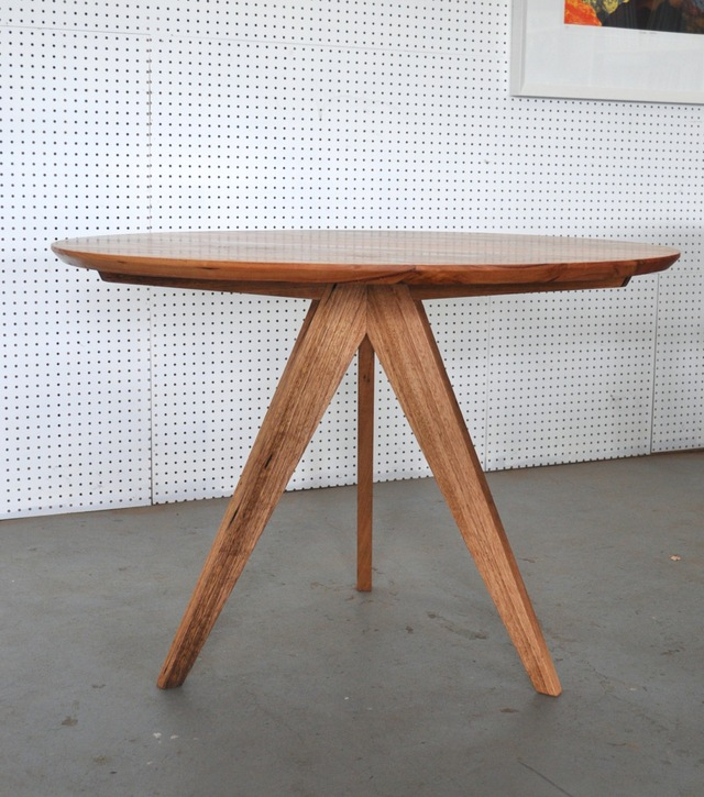 3 Seven's Tables by Furniture Designer Makers - Round Tables, Tripod Base