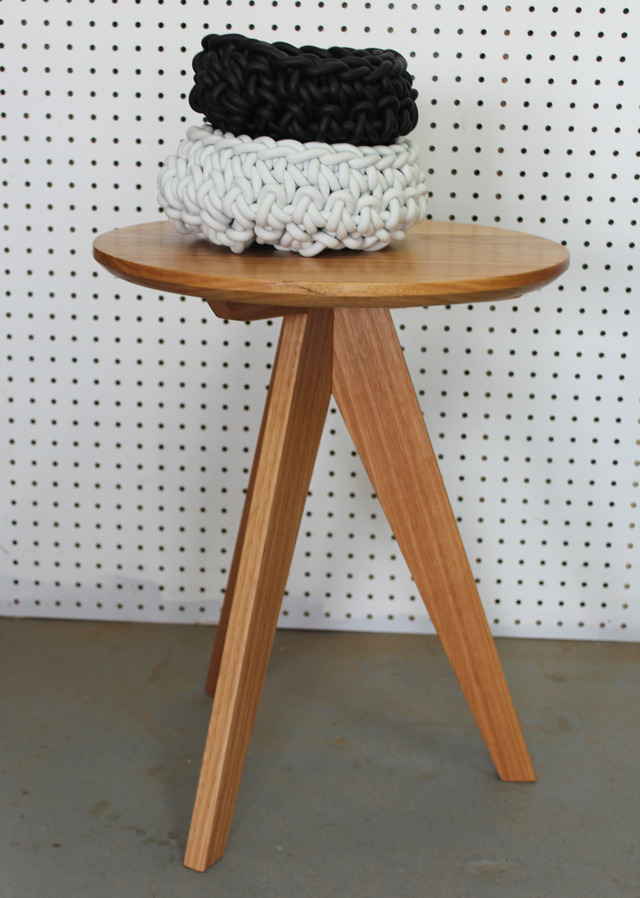 3 Seven's Tables by WilderCoyle Furniture & Design - Round Tables, Tripod Base