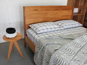 Classic Bed by WilderCoyle Furniture & Design - Bed, Bed Head, Timber Bed