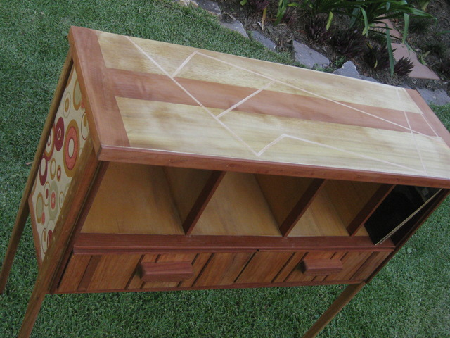 LP(vinyl) Storage Cupboard by Aengus Cullinan - Vinyl Record Cupboard