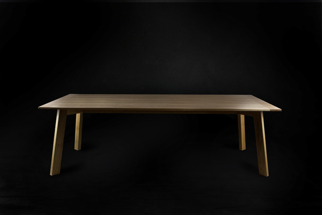 Archipelago Table by makimaki Furniture Works - Makimaki, White Oak, Boardroom, Conference, Breadboard, Veneer, Ply, Table