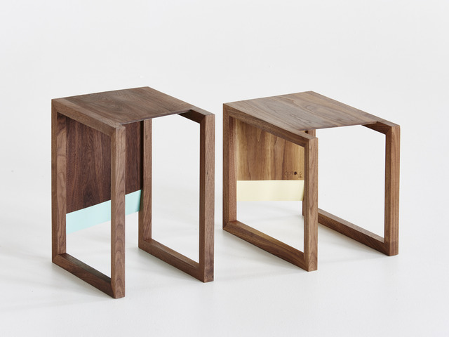 Sku Side Tables & Stools by Curious  Tales - Walnut, Multifunctional, Table, Stool, Solid Timber