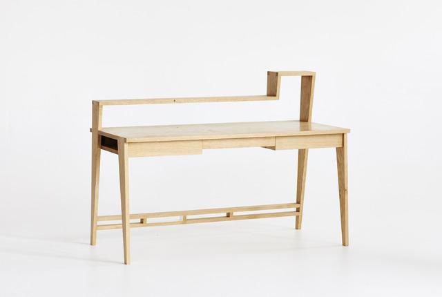 125 Desk by Curious  Tales - Desk, Solid Timber, European Oak
