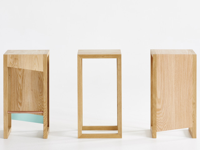 Sku Bar Stools by Curious  Tales - Stool, Solid Timber, American Oak