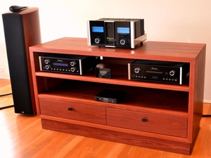 Sounds Heavy by David Howlett - AV Cabinet, Stereo Cabinet, HIFI Cabinet
