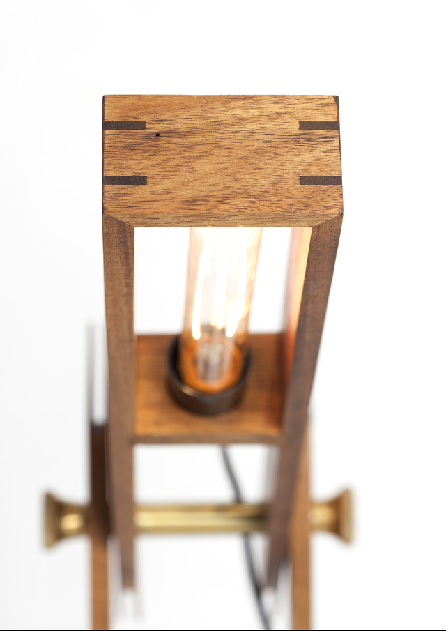 Wright Light by Dominic van Riet - Table Lamp, Study Lamp, Bedside Table Lamp, Feature Light, Office Lamp, Desk Lamp, Adjustable Table Lamp, Timber Lamp
