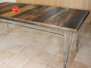The Fremantle by Gino Fanchetti - The Fremantle, Retro Table, Steel