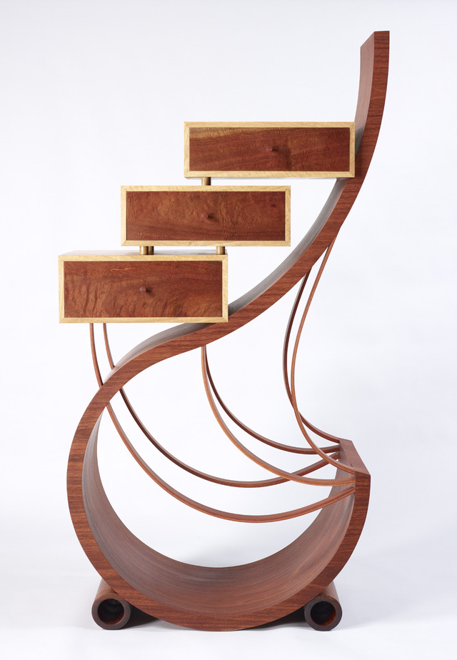 Winged Spirit by Neil Turner - Fine Furniture, Bespoke Art Furniture, Jarrah, Organic