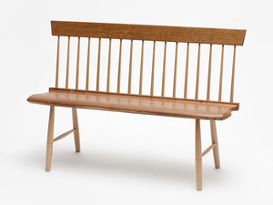 Shaker Meeting Bench by Bernard Chandley - Bespoke Seating, Bench Seat