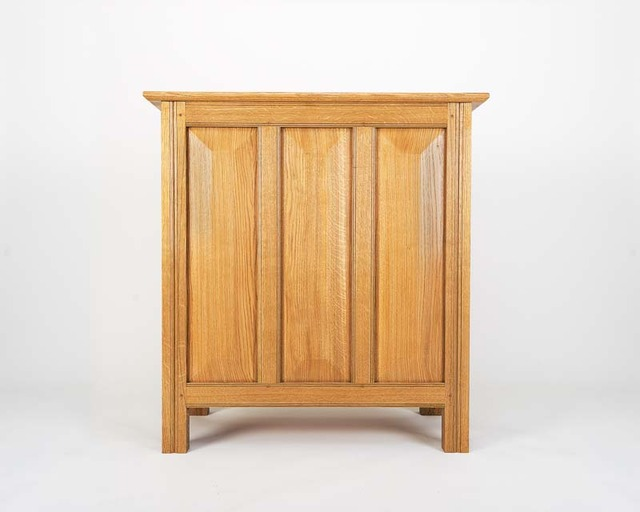 Oak Cabinet by Bernard Chandley - Bespoke Cabinet, Handcarved, Oak