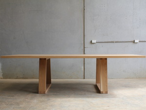 The Surgeons dining table by CHRISTOPHER BLANK - Design, Custom, American Oak, Dining Table, Christopher Blank