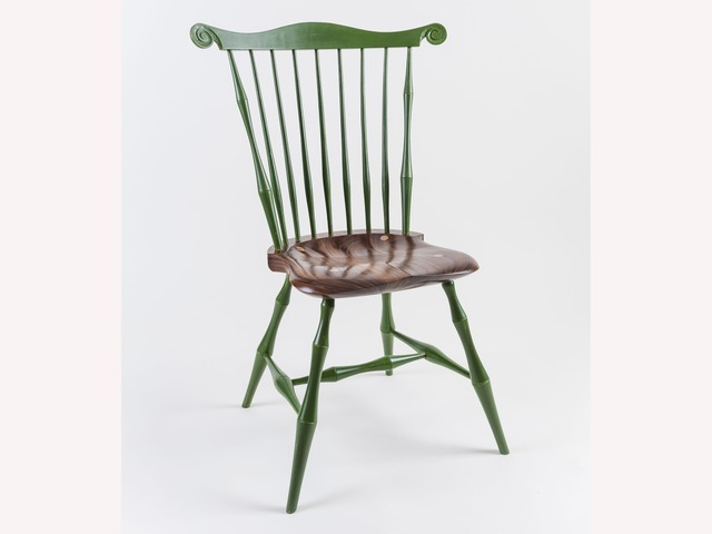 Fanback dining chair by Bernard Chandley - Hand Made, Hand Crafted, Dining Chair