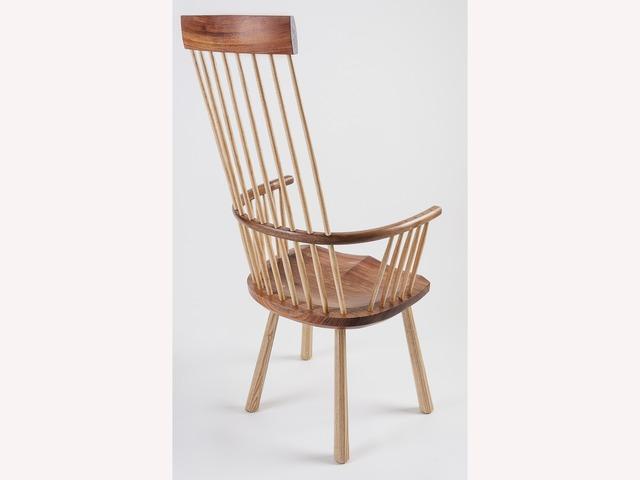 Highback Welsh Stickchair by Bernard Chandley - Bespoke Chair, Handcrafted, Handmade Chair