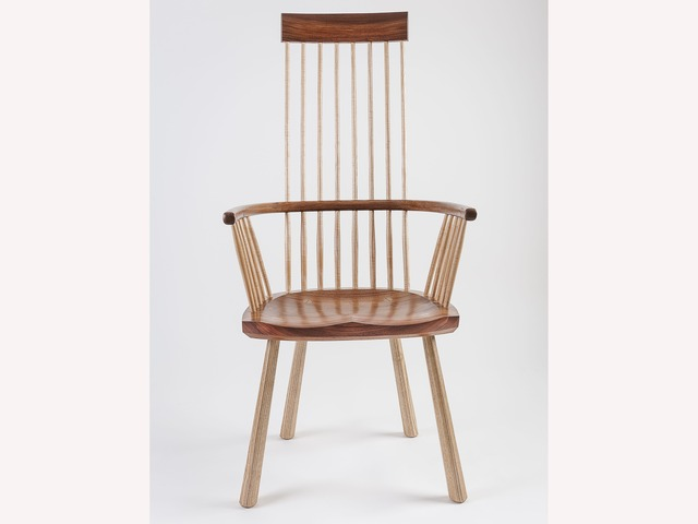 Highback Welsh Stickchair by Bernard Chandley - Bespoke Chair, Handcrafted, Handmade Chair