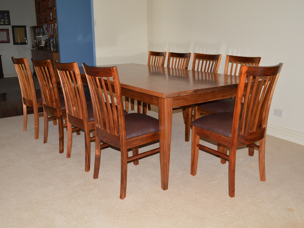Blackwood Dining Table By Grain Timber Furniture Handkrafted