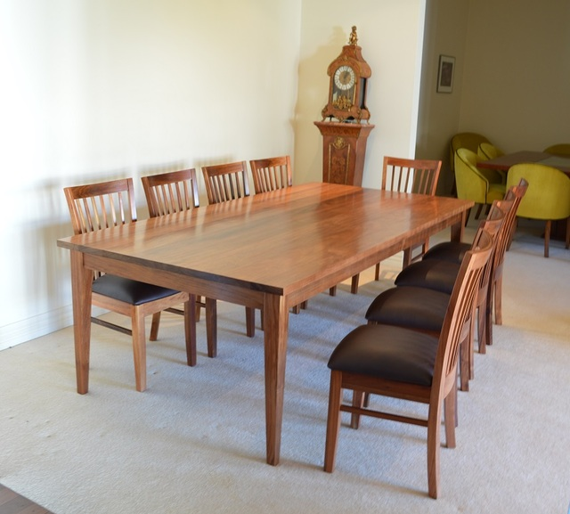 Blackwood Dining Table By Grain Timber Furniture