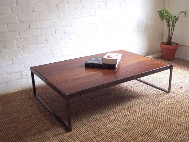 Wandoo coffee table by Luke Rogers - Custom Design, Furniture Design, Coffee Table, Table Design, Hardwood
