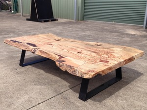 'El Grande' Coffee Table by Zac Pearton - Coffee, Table, Slab, Natural